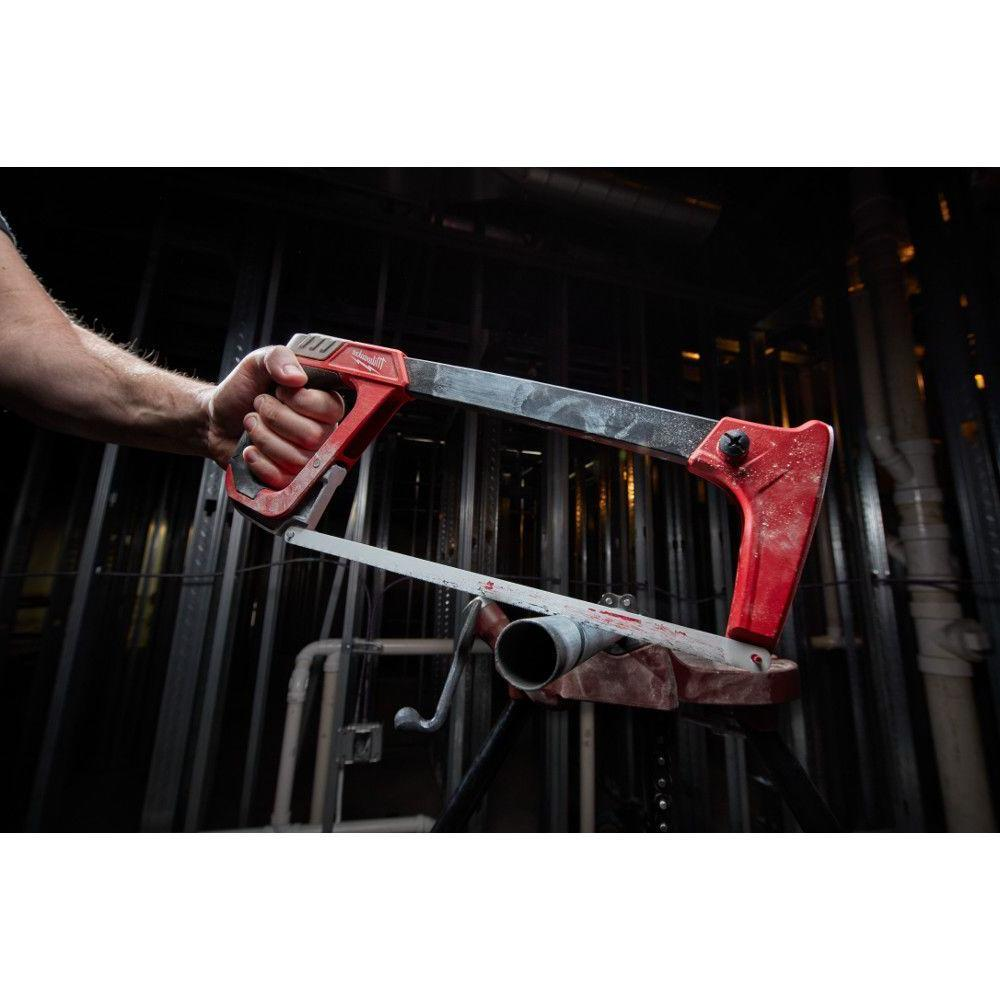14 in. Hack Saw with Rubber Handle