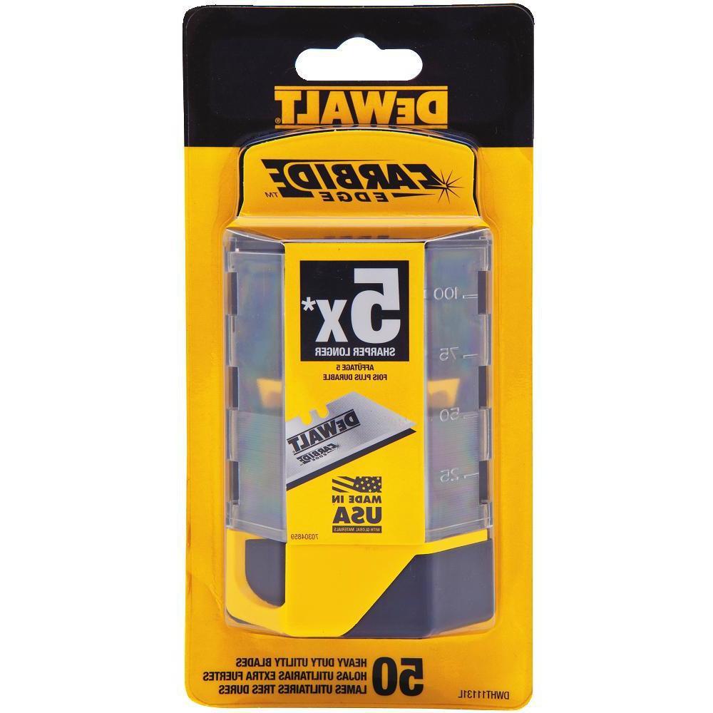 Carbide Utility Blade (50-Pack)