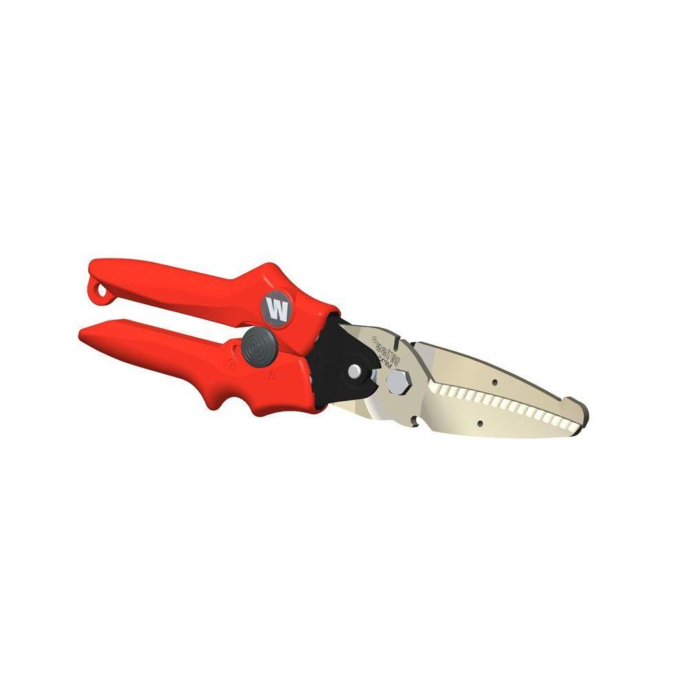 11 in. Straight-Cut Tin Snip
