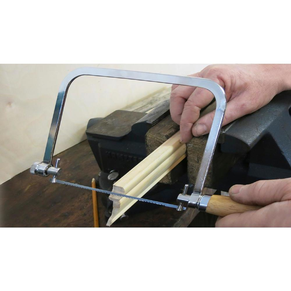 7 in. Coping Saw with Wood Handle