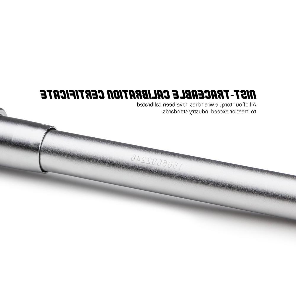 14 mm x 18 mm, 10 ft./lbs. to 80 ft./lbs. Interchangeable Torque Wrench