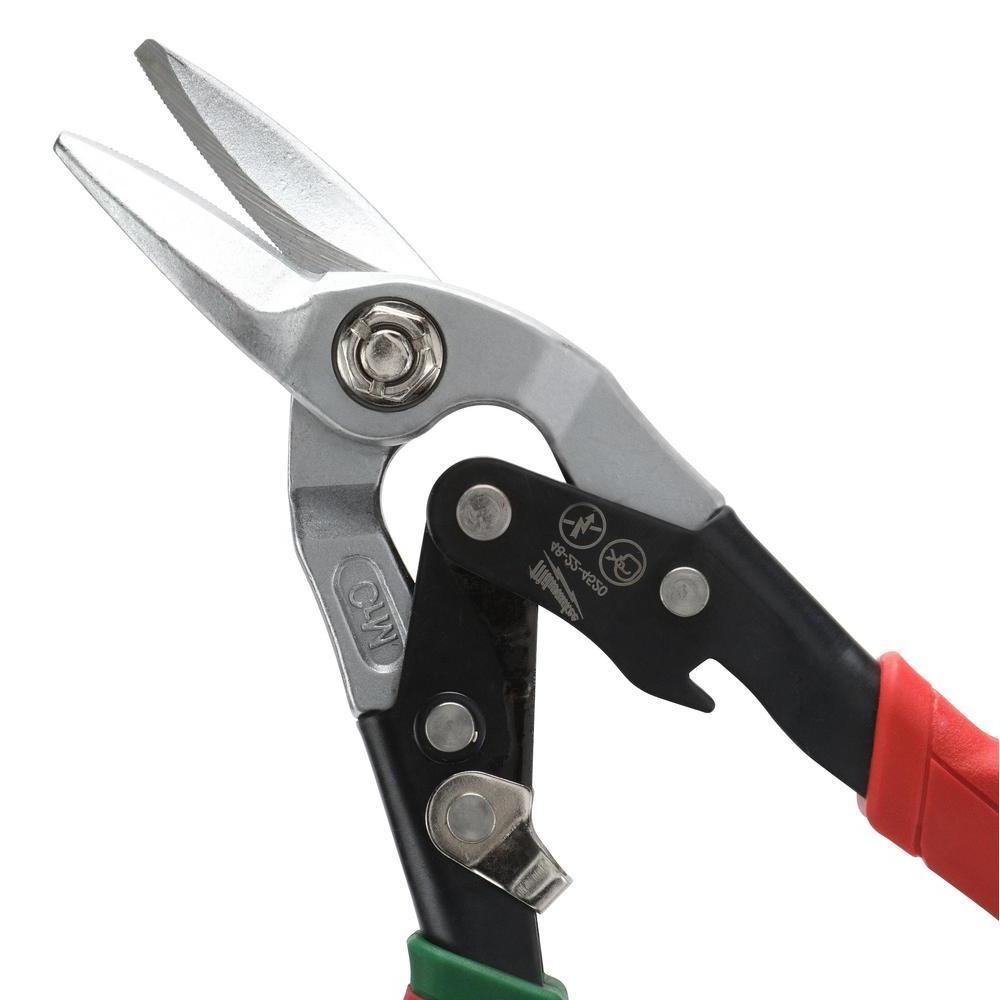 Straight-Cut Offset Aviation Snip (3-Pack)